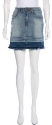 J Brand Denim Mini Skirt w/ Tags