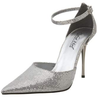 The Highest Heel Women's Slick Ankle-Strap Pump