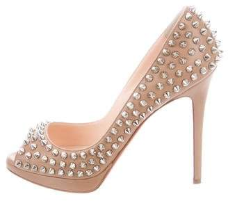 Christian Louboutin Bianca Embellished Pumps