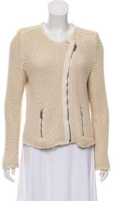 IRO Leather-Trimmed Miali Jacket