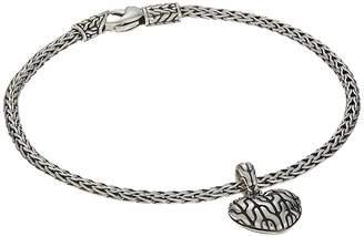 John Hardy Classic Chain Heart Charm Bracelet