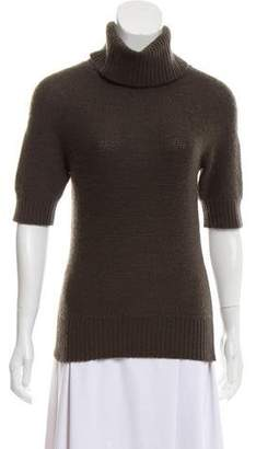 Magaschoni Short Sleeve Cashmere Sweater