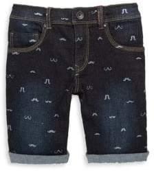 Catimini Little Boy's & Boy's Mustache Bermuda Shorts