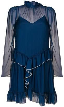 See by Chloe ruffle detailed dress