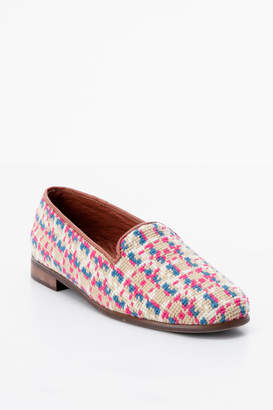 Paige By Summer Tweed Needlepoint Loafer