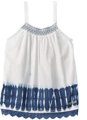 Bebe Girls' Tie-Dye Top