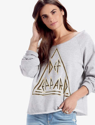Lucky Brand Def Leppard Pullover