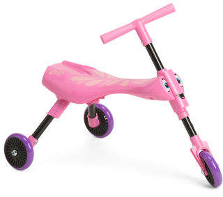 Walking Tricycle With Foldable Design