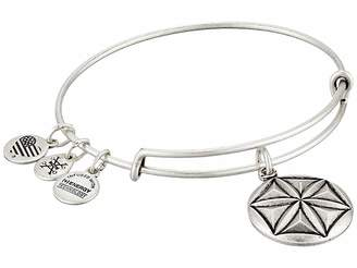 Alex and Ani Aphrodite's Flower Charm Bangle Bracelet