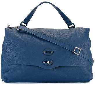 Zanellato flap shoulder bag