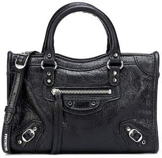 Balenciaga Classic Nano City leather tote