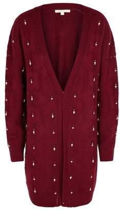 Jonathan Simkhai Bordeaux Embellished Textured