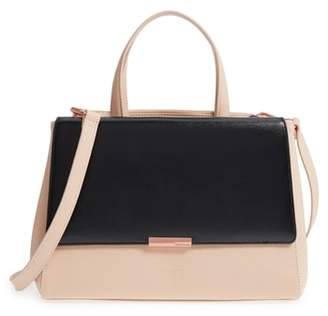 Ted Baker Dadelph Faux Leather Satchel