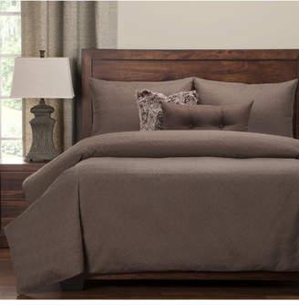 Pologear Saddleback Brown 6 Piece Cal King High End Duvet Set Bedding