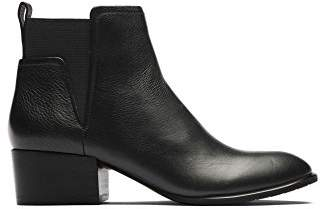 04142edaa417 Kenneth Cole New York Women s Artie Pull On Ankle Bootie Low Heel Leather