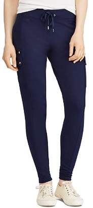 Ralph Lauren Drawstring Cargo Leggings