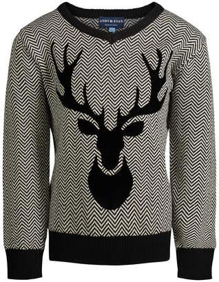 Andy & Evan Herringbone Sweater