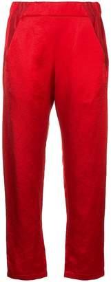 Zero Maria Cornejo satin-twill trousers