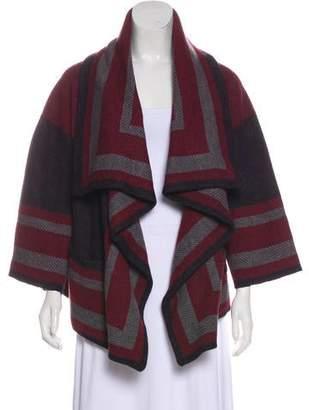 Burberry Wool-Blend Knit Cardigan