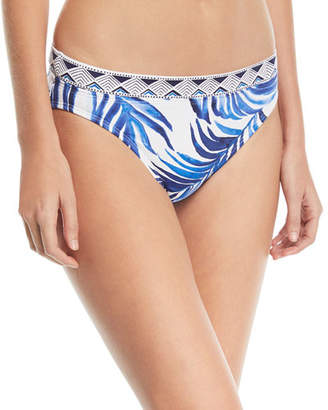 Tommy Bahama Banded Hipster Printed Swim Bikini Bottoms
