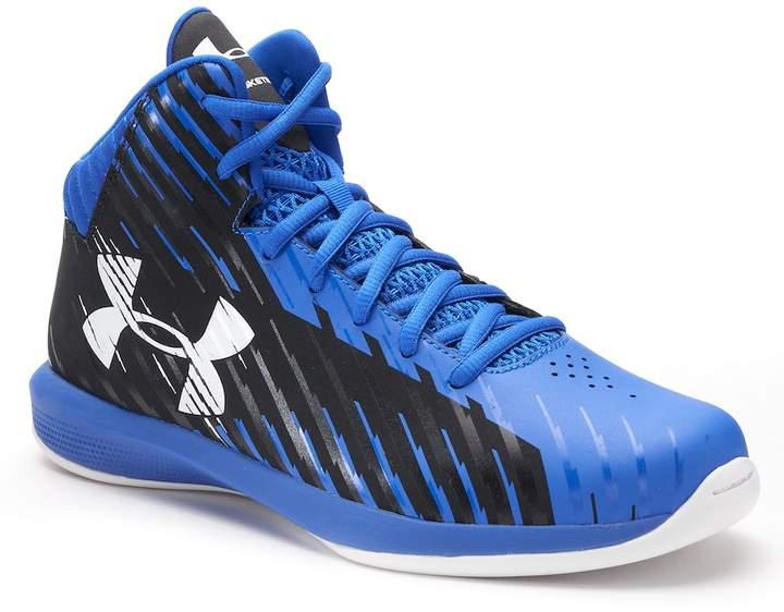Under Armour Jet Express Mid Grade School Boys' Basketball Shoes