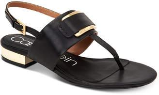 Calvin Klein Women's Freida Embellished Sandals Women's Shoes
