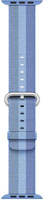 Apple Watch 38mm Tahoe Blue Woven Nylon Band