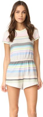 Wildfox Beach Towel Stripe Romper $118 thestylecure.com