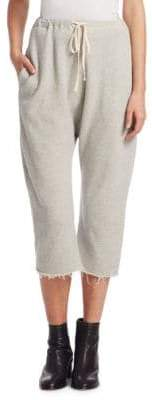 R 13 High-Rise Cropped Sweatpants