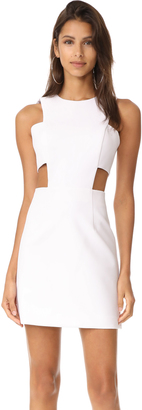Milly Cutout Mini Dress $370 thestylecure.com