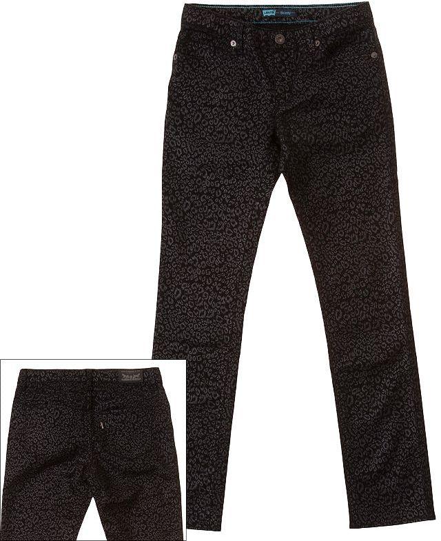 Levi's wild child cheetah skinny jeans - girls 7-16