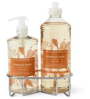 Williams-Sonoma Williams Sonoma Pumpkin Spice Hand Soap & Dish Soap Classic 3-Piece Set