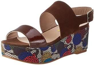 Delos, Womens Wedge Heels Sandals Manas