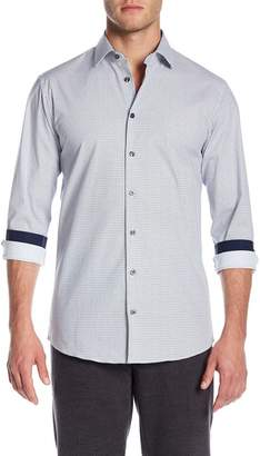 14th & Union Spread Collar Printed Shirt (Slim Fit)
