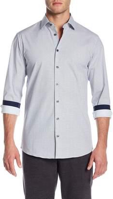 14th & Union Spread Collar Printed Shirt (Slim Fit)