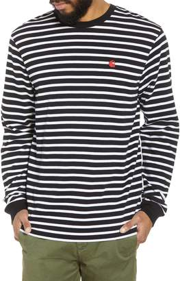 Carhartt WORK IN PROGRESS Stripe Long Sleeve T-Shirt