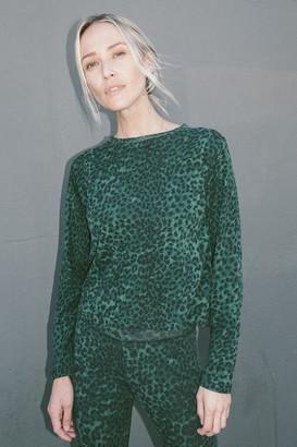87e4da2a760 Rag Doll Ragdoll LONG SLEEVE TEE Green Leopard