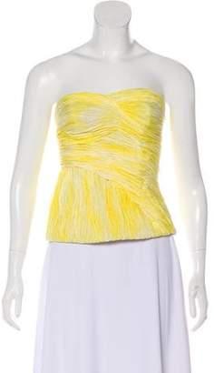 Thakoon Silk Strapless Top