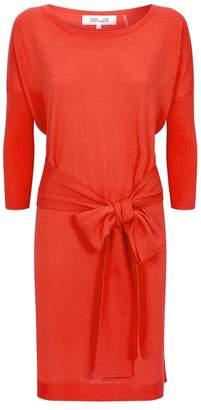 Diane von Furstenberg Carolyn Belted Midi Dress