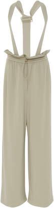 Tibi Detachable Shoulder Strap Paperbag Pant