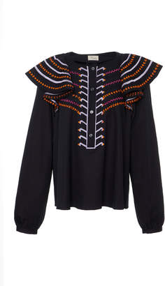 Temperley London Expedition Cotton Blouse
