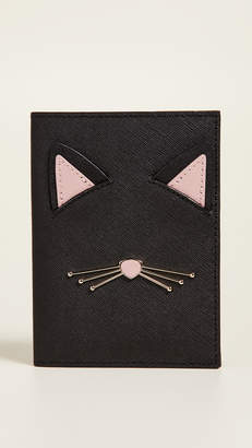 Kate Spade Cat's Meow Passport Holder