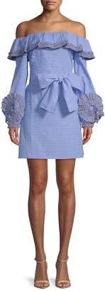 Alexis Women's Off-Shoulder Ruffle Dress