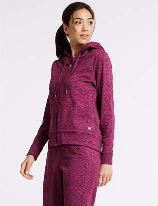 Marks and Spencer Brushed Hooded Top