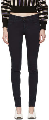 Stella McCartney Blue Skinny Long Jeans