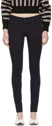 Stella McCartney Blue Skinny Long Jeans
