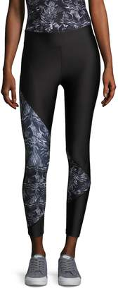 We Are Handsome Women's Active Tri Capri Leggings