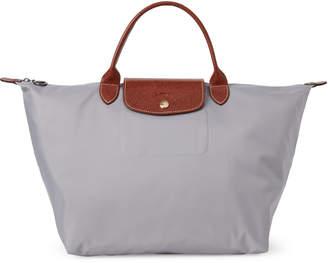 Longchamp Putty Le Pliage Medium Top Handle Bag