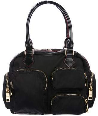 MZ Wallace Leather-Trimmed Nylon Handle Bag