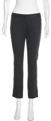Derek Lam Mid-Rise Straight-Leg Pants